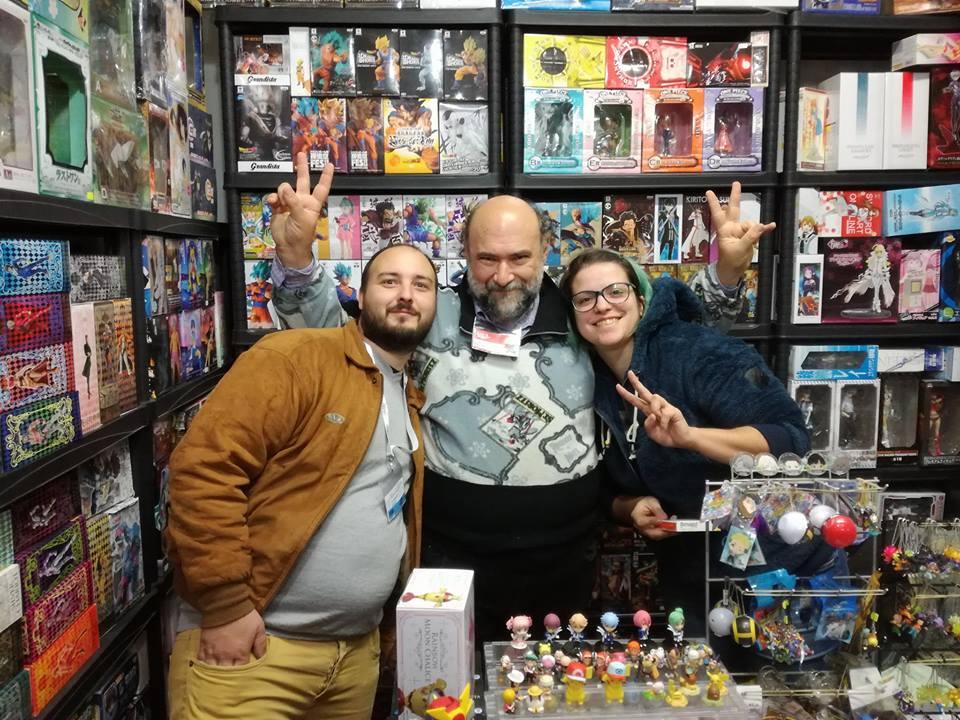 Lucca 2017 Aligi, Max e Ba