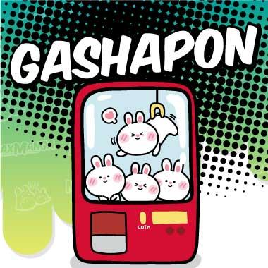 Gashapon - Candy Toys - Portachiavi