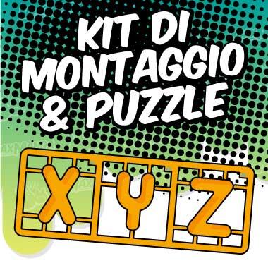 Kit di montaggio - Resine - Puzzle